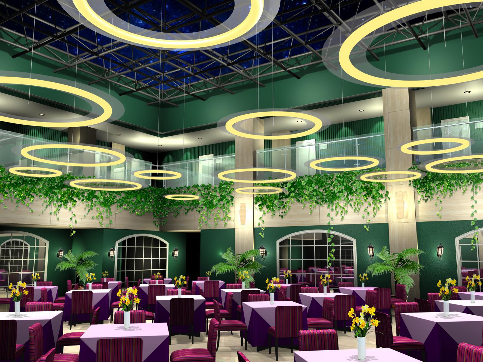 餐厅设计;; 北京语言大学特色点餐厅方案,,学校餐厅装修|食堂装修
